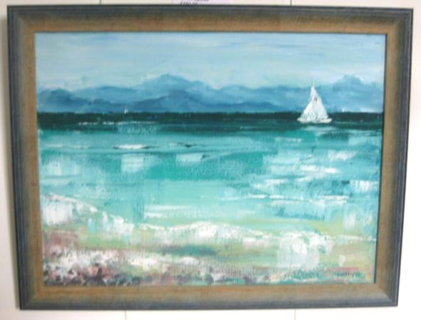 Yachts Passing Applecross